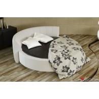 купить круглую кровать в москве недорого